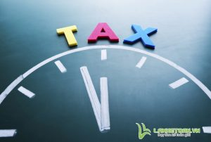 Time for tax concept
