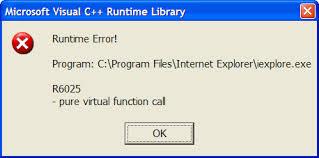 Cách sửa lỗi Run time error
