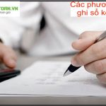 Các phương pháp ghi sổ kế toán