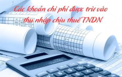 Chi phí hợp lý khi xác định thuế thu nhập doanh nghiệp