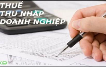 Điểm mới về thuế TNDN tạm tính năm 2014
