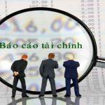 Học làm báo cáo tài chính