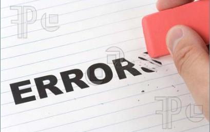 Lỗi thường gặp khi sử dung các phần mềm kế toán