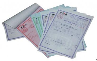 Thủ tục đặt in hóa đơn lần đầu