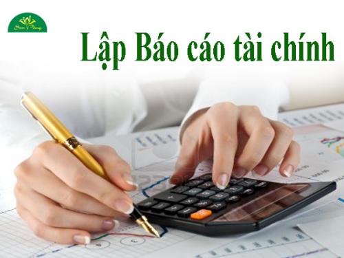 cách trình bày và hoàn thiện báo cáo tài chính