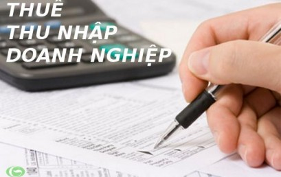 Quyết toán thuế thu nhập doanh nghiệp năm 2015