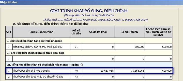 khai bo xung dieu chinh thue gtgt (2)