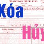 Hướng dẫn phân biệt hóa đơn xóa bỏ và hóa đơn hủy bỏ