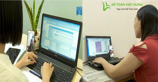 học kế toán online
