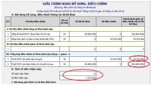 Những nguyên tắc vàng kê khai bổ xung điều chỉnh thuế GTGT