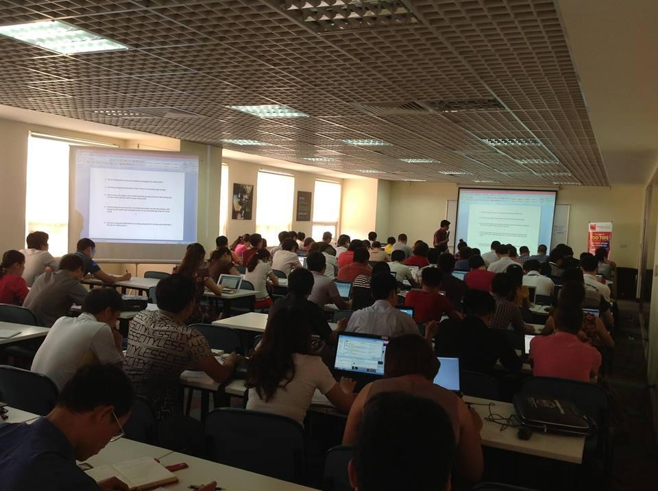 Lớp học kế toán tập trung tại Lamketoan.vn