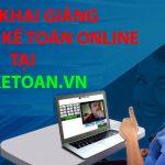 Lịch khai giảng dành cho học viên học kế toán Online