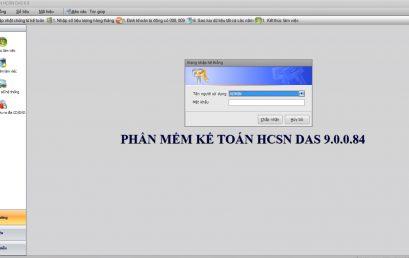 Phần mềm kế toán DAS – Dynamic Accounting System
