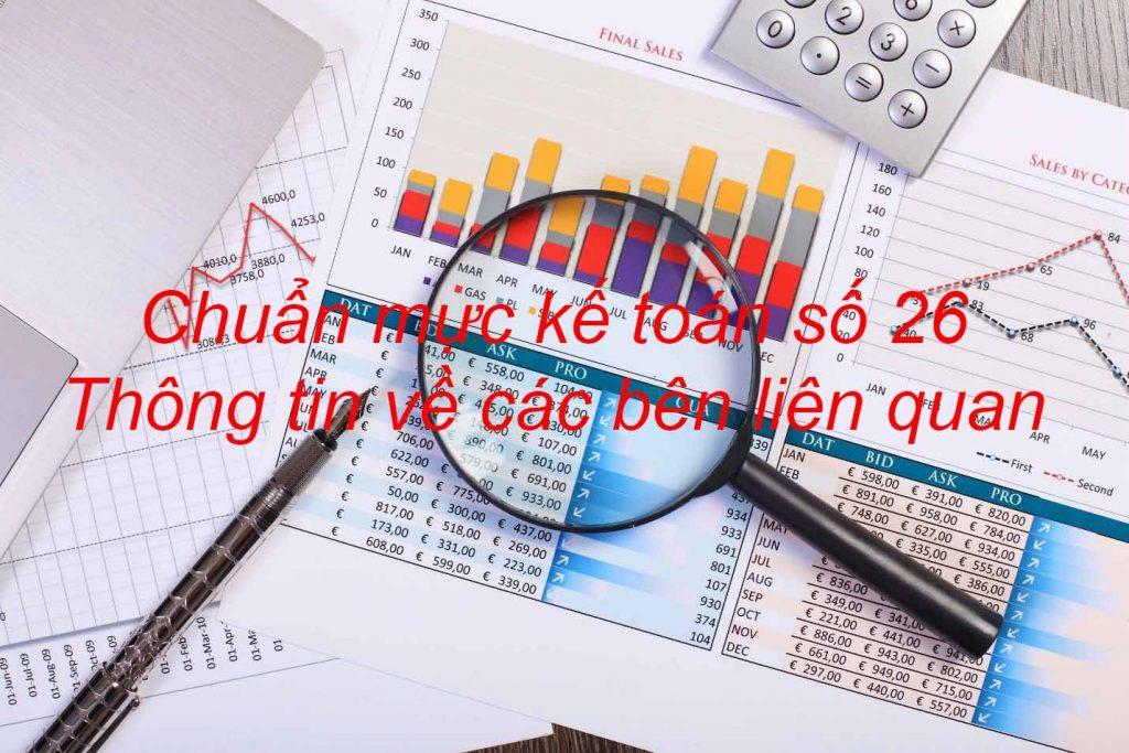 Chuẩn mực kế toán số 26: Thông tin về các bên liên quan