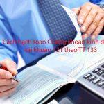 Cách hạch toán chứng khoán kinh doanh tài khoản 121 theo TT 133