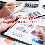 Hạch toán Xác định kết quả kinh doanh Tài khoản 911 theo TT 133