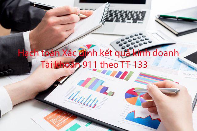 Tk 911 xác định kết quả kinh doanh