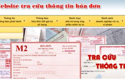 Tra cứu hóa đơn, thông tin hóa đơn