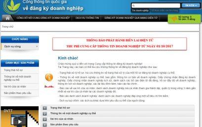 Tra cứu thông tin doanh nghiệp online