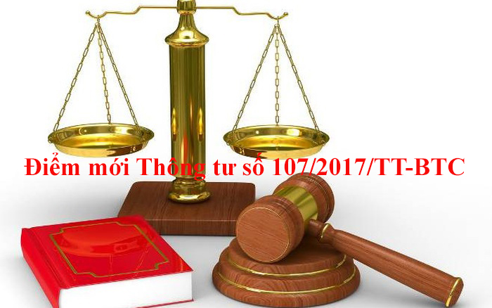 Tổng quan điểm mới Thông tư số 107/2017/TT-BTC về chế độ kế toán Hành chính, sự nghiệp