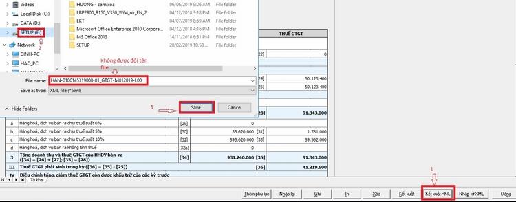 Lập tờ khai trên phần mềm hỗ trợ kê khai thuế HTKK