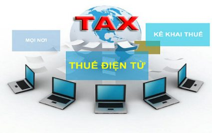 hướng dẫn nộp thuế điện tử