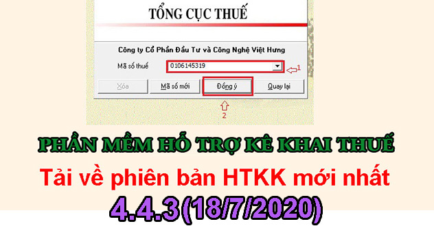 download phần mềm htkk thuế mới nhất