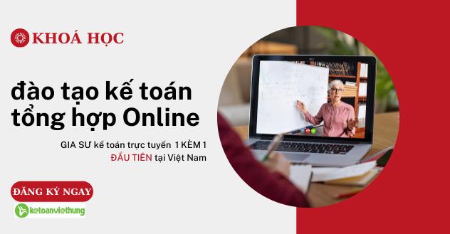 khóa học đào tạo kế toán tổng hợp online