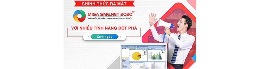 Phần mềm kế toán Misa SME.NET 2020