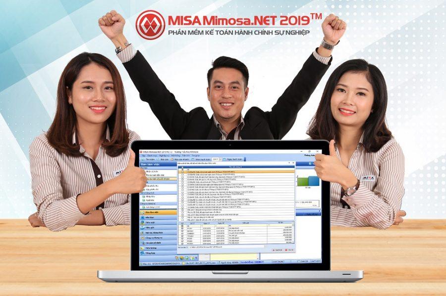 Phần mềm kế toán hành chính sự nghiệp Misa Mimoza - HCSN