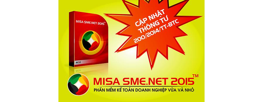 File .LIC đăng ký bản quyền phần mềm Misa SME.NET 2015