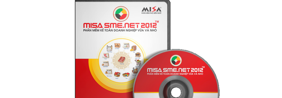 Bản quyền phần mềm kế toán Misa SME.NET 2012