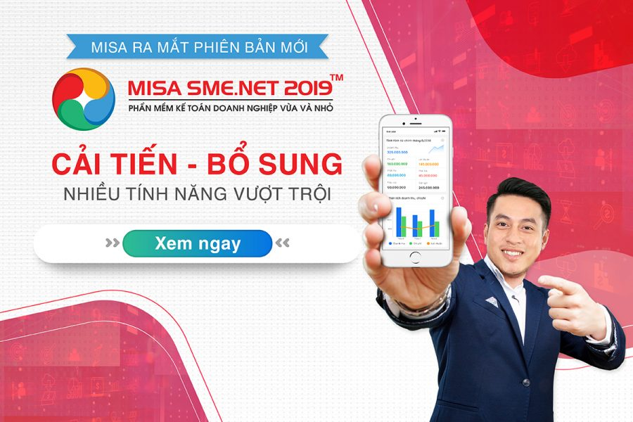 Phần mềm kế toán Misa SME.NET 2019